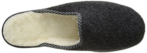 Rondinaud Gabillou, Chaussons Mules Homme Gris (06 Anthracite)