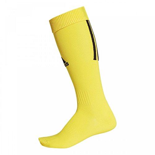 adidas Kinder Santos 18 Socken, Yellow/Black, EU 34-36