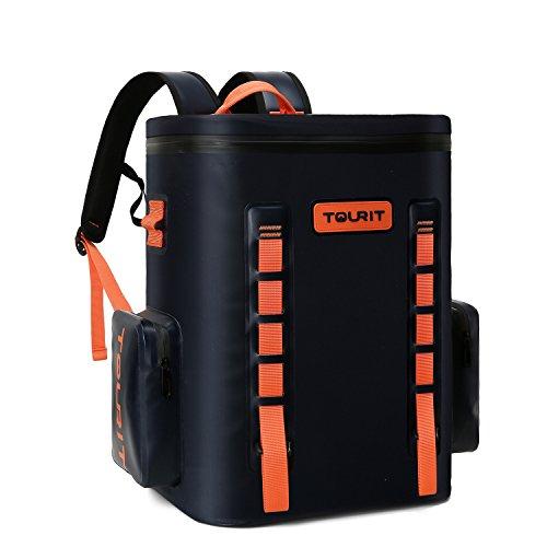 Tourit zaino impermeabile borsa soft side cooler termica superiore morbido raffreddamento effetto 30lattine per campeggio pesca in mare picnic