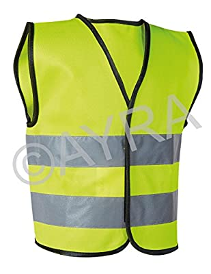 High Visibility Childrens Safety Vest Waistcoat Jacket Small Size : everything 5 pounds (or less!)
