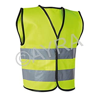 High Visibility Childrens Safety Vest Waistcoat Jacket Small (4 - 6 years)