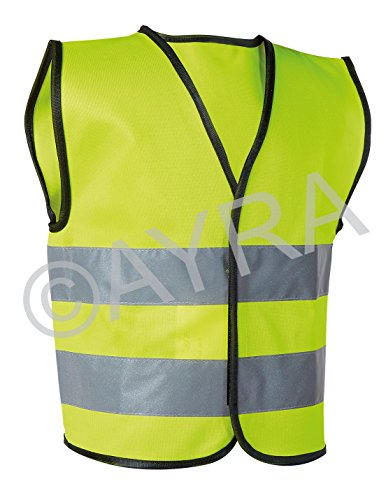 Ayra High Visibility Childrens Safety Vest Waistcoat Jacket Small Size
