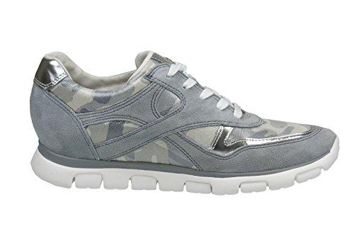 Gabor Gabor Damen Sneaker, Scarpe stringate donna Grigio grafite Grigio (grigio)
