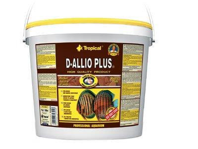 Tropical D-Allio Plus Flockenfutter mit Knoblauch, 1er Pack (1 x 5 l) (Tropical-flocken Plus)