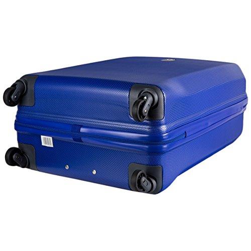 345082102 Trolley Delsey MISAM 4 Rollen 76 cm blau - 4