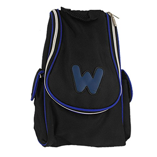 Bidireccional cremallera Negro azul bolsa transporte