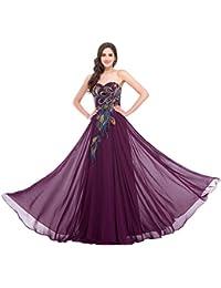 624f977178 GRACE KARIN Vestido Largo sin Tirantes Elegante para Mujer de Fiesta para  Boda Ceremonia Maxi