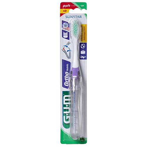 GUM Orthodontic Travel Toothbrush
