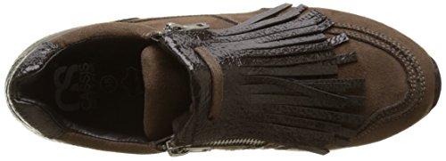 Cassis Cote Dazur Ladies Blandine Flat Brown (kaki)