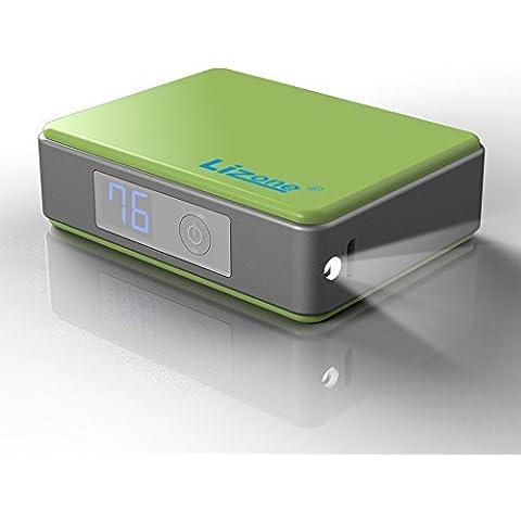 Lizone® 5200mAh Mini cargador portátil y batería externa POWER BANK con QC para iPhone 6 6S Plus 5S 5C 5 4S, iPad, Samsung Galaxy S4 S5 S6 Note, Nexus, HTC, Motorola, Nokia, PS Vita y mucho más -