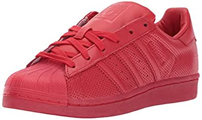 Adidas Men Superstar Adicolor Scarlet 6 D(M) US