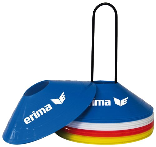 erima Markierungshüte Set, Red/Blue/Yellow/White, One size, 724103