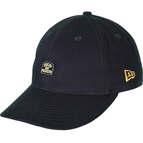 New Era Low Profile Strapback Cap - Green Bay Packers - S/M (Bay Low)