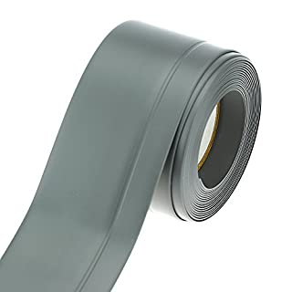 Weich Sockel Leiste selbstklebend Profil 45x15 mm 25m dunkelgrau