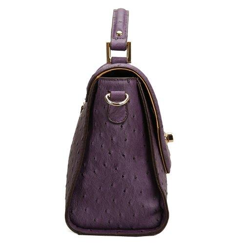 Valin Q0448 donna Borse a spalla,Borse a tracolla30x20x12 cm (B x H x T) Purple