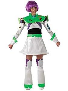 Rubies - Disfraz Oficial de Miss Buzz Lightyear para Mujer (Talla pequeña)