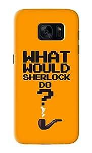 Pluginkart Sherlock Do Premium Mobile Case Mobile Cover designer case for Samsung Galaxy S7