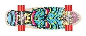 Osprey Pin Stripe Skateboard mini cruiser Noir/Vert