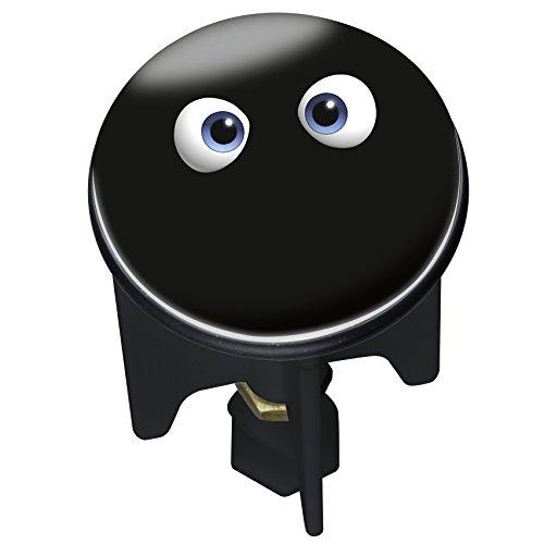 WENKO 21438100 Waschbeckenstöpsel Pluggy Thermo Monster - Abfluss-Stopfen, für alle handelsüblichen Abflüsse, Kunststoff, 3.9 x 6.5 x 3.9 cm, Mehrfarbig