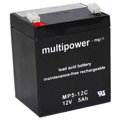 MultiPower Bleiakku MP5-12C Zyklen-Type 12Volt 5Ah Blei-batterie