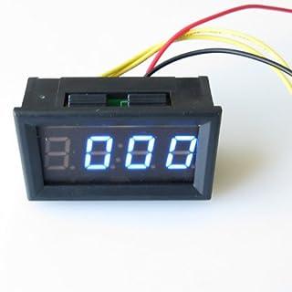 atoplee DC4.5-30V Mini 1cm blau LED Digital Stunde Meter 12V 24V KFZ LKW Uhr