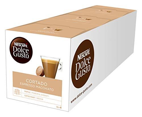 Dolce Gusto Cortado Espresso Macchiato (Pack of 3)