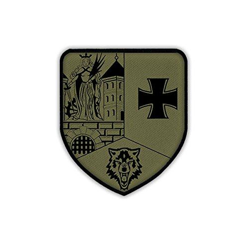 Copytec Patch/Aufnäher - AusbUstgKp 371 Ausbildungsunterstützungskompanie Marienberger Jäger JgBtl Kompanie Bundeswehr Abzeichen Wappen Aufnäher Klett #18512