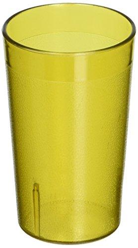 New Star Foodservice 46526Tumbler Getränk, Tassen, Restaurant Qualität, Kunststoff, 5oz, Bernstein, Set von 12 (Tupperware Cuisinart)