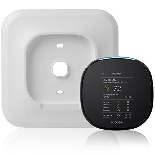Holaca 6.625in-Halterung Cover für ecobee3Smart WLAN Thermostat eb-state3-02, White-Ecobee4 -
