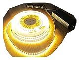 SET: HIGH POWER LED Streifen Stripe Strip 600LED 5m warmweiss weiß mit Netzteil 24V (Pro Serie) 60Watt TÜV geprüft