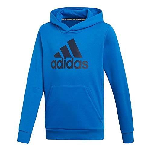 adidas Kinder Must Haves Badge of Sport Hooded Sweatshirt Blue/Collegiate Navy 152