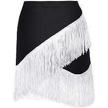 efb0dfba4 ropa baile latino - Blanco - Amazon.es