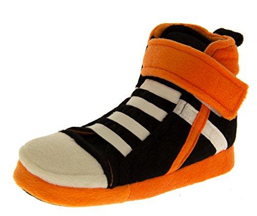 De Fonseca Mädchen Basketballturnschuhen Pantoffel Stiefel Schwarz,Orange