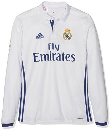 1ª Equipación del Real Madrid CF 2015/16 - Camiseta oficial adidas para niños de 7-8 años