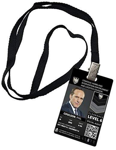 HSSS Phil Coulson Agents of Shield Special Agent Rep Neuheit ID Kostüm (Shield Agent Kostüm)