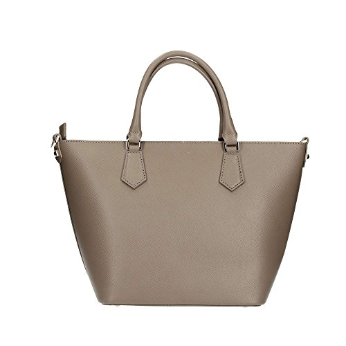 Patrizia Pepe Candy Cadillac Sac à main cuir 25 cm uniform grey