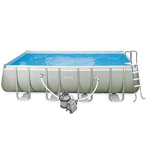 vidaXL Intex Ultra Frame Rechteckiger Pool Set 549 x 274 132 cm 28352GN