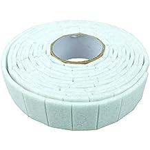 Bid Buy Direct® muebles Gripper pequeño cuadrado antideslizante almohadillas de fieltro Sobre Un autoadhesivo rollo de 2m | sin clavos sin pegamento sin marcas en suelos | protege con buen agarre