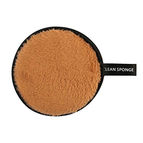 Lenfesh Microfibre Tampons Remover Doux Serviette Visage Nettoyant Maquillage Nettoyant ÉPonge