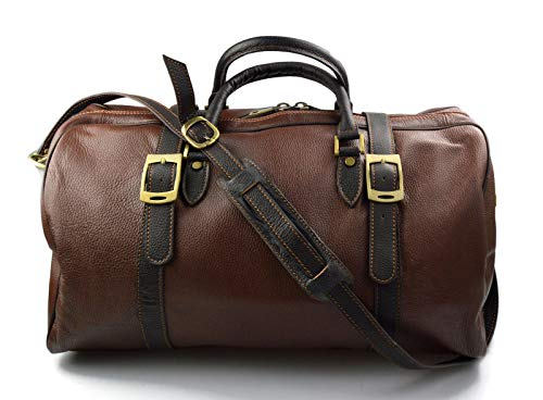 Zoom IMG-1 borsone pelle uomo donna borsa