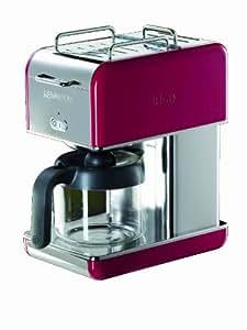 Kenwood CM041 Kmix Machine à Café 10 Tasses Rouge