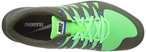 Nike Herren Free Trainer 5.0 V6 Hallenschuhe Grün (Cargo Khaki/Sr-Grn Strk-White 343)