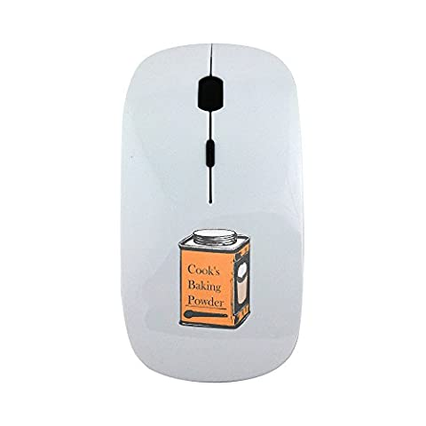 Wireless mouse with Clipart Old Tin Can.