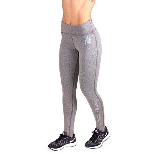 Gorilla Wear Womens Annapolis Work Out Legging - grau - Bodybuilding und Fitness Leggings für Damen, M