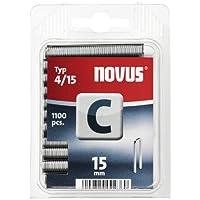 Novus 042-0390 Grapa C 4 15 mm 1100 St
