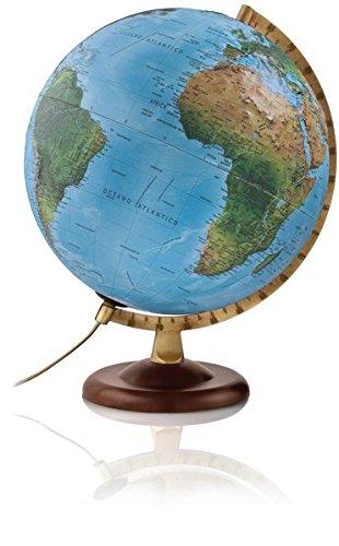 R4 gold: R4 gold Globus mit 3-D-Oberfläche (Reliefglobus)