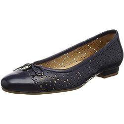 Van Dal Damen Wentworth Ballerinas, Blau (Midnight), 39 EU