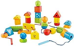 Hape E1001 - Juguete de enhebrar, Juguete de Primera Infancia