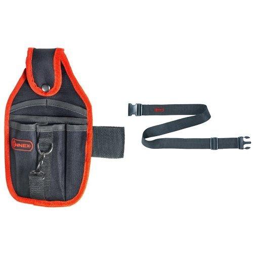 Connex Werkzeugtasche, 7 Fächer Polyester, COX952052 + Connex Werkzeuggürtel verstellbar Nylon,...