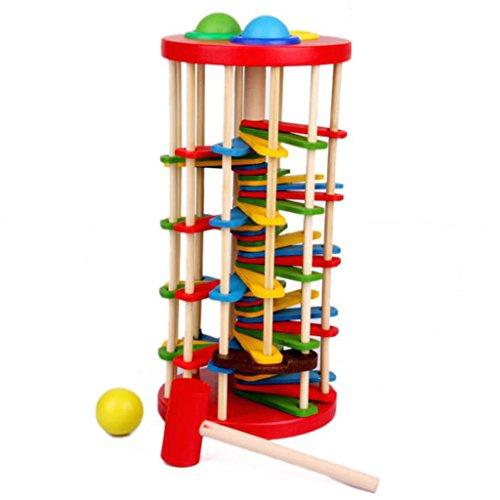 gazechimp-klopfkugelturm-aus-holz-26-cm-mit-136cm-hammer-fur-kinder-lustiges-spielzeug